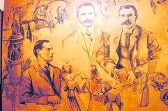 The mural will be back in Ballymun before Easter