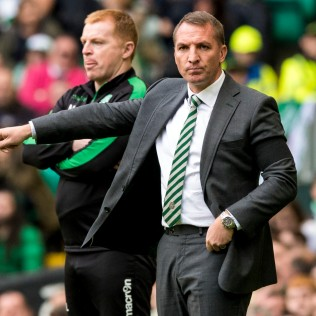 30/09/17 LADBROKES PREMIERSHIP CELTIC v HIBERNIAN CELTIC PARK - GLASGOW Celtic manager Brendan Rodgers