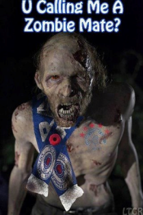 you calling me a zombie