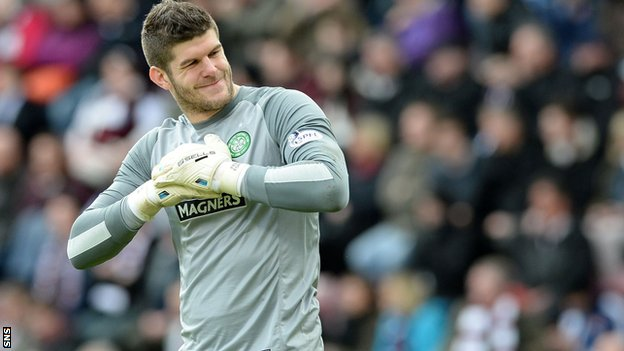 Fraser Forster Wallpaper: The Celtic Footsoldiers