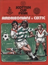 airdrie v celtic 3rd may 1975
