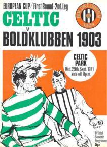 Celtic-Boldklubben-29.09.71