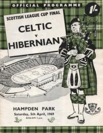 celtic v hibernian 5th april 1969