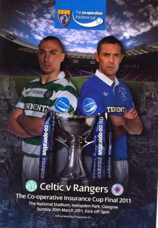Scottish League Cup Final 2010.11 Celtic Rangers