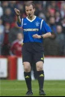 referee for rangers game