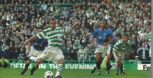 celtic 2-1 rangers 25th nov 2001