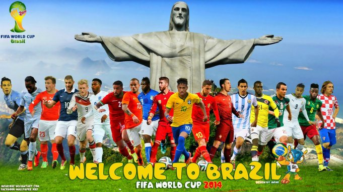 WELCOME TO BRAZIL - FIFA World Cup 2014 Wallpaper