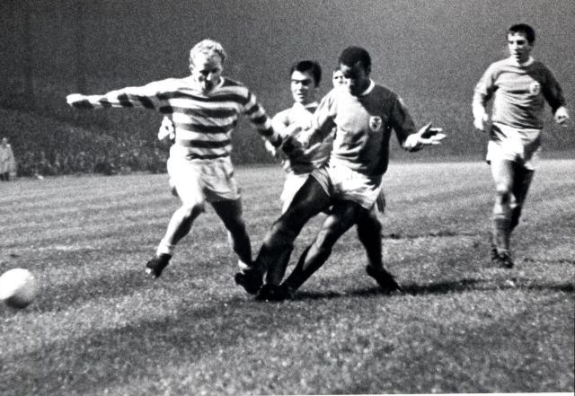 Celtic versus Benfica European cup football 1969