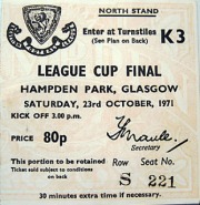 Scottish League Cup Final 1971