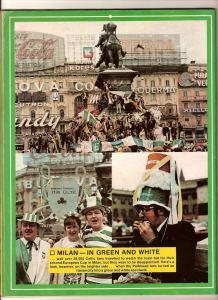 Milan 1970 Celtic fans in square