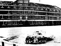 Milan Motorcade at Celtic Park 1970