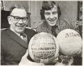 Jimmy McGrory and Dixie Deans balls