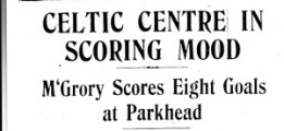 McGrory in scoring mood headline