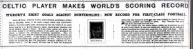 World Scoring Record headline