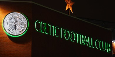 GLASGOW, SCOTLAND - NOVEMBER 26: A general view outside the stadium prior to the UEFA Europa League Group A match between Celtic FC and AFC Ajax at Celtic Park on November 26, 2015 in Glasgow, United Kingdom. (Photo by Mark Runnacles/Getty Images)