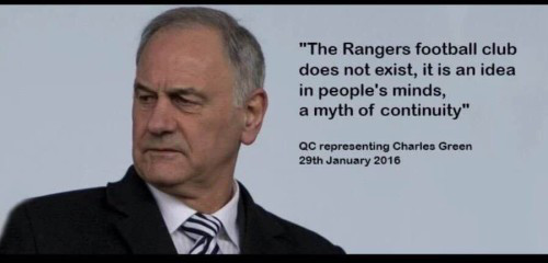 Image result for charles green rangers quotes