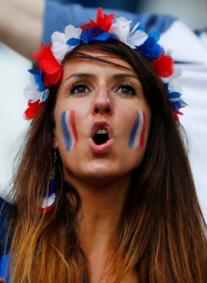 Football Soccer - France v Albania - EURO 2016 - Group A - Stade Vélodrome, Marseille, France - 15/6/16 France fan before the match REUTERS/Eddie Keogh Livepic