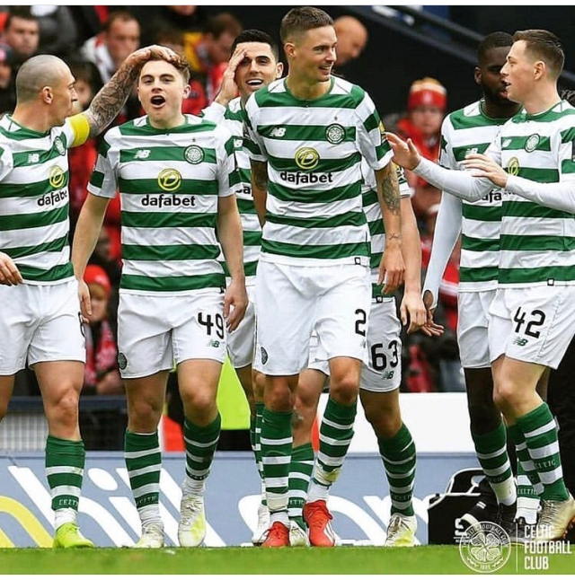 db072383b CELTIC stormed to their sixth consecutive domestic cup final with a  dominant 3-0 victory over Aberdeen in the Scottish ...